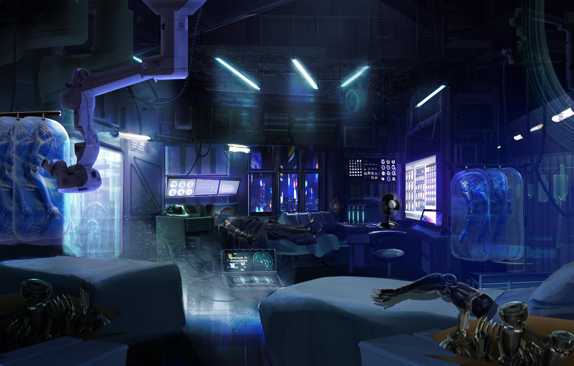 Cyberpunk medclinic