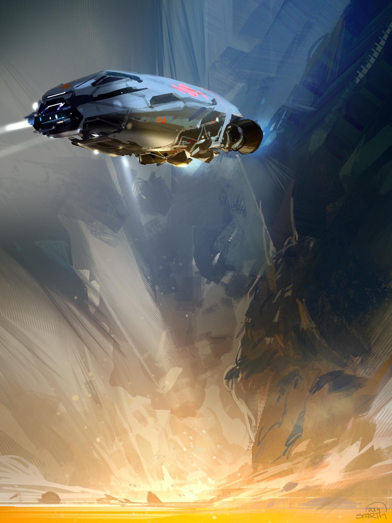 Sparth lava spaceship 2014