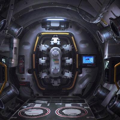 Karakter kz4 airlock inside