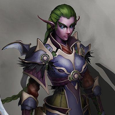 Ixtian huntress concept