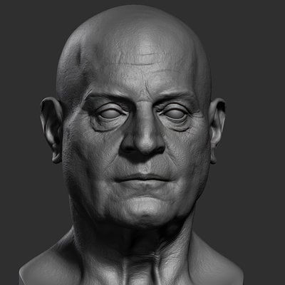 Assassin's Creed Unity, Francois De La Serre Head Sculpt