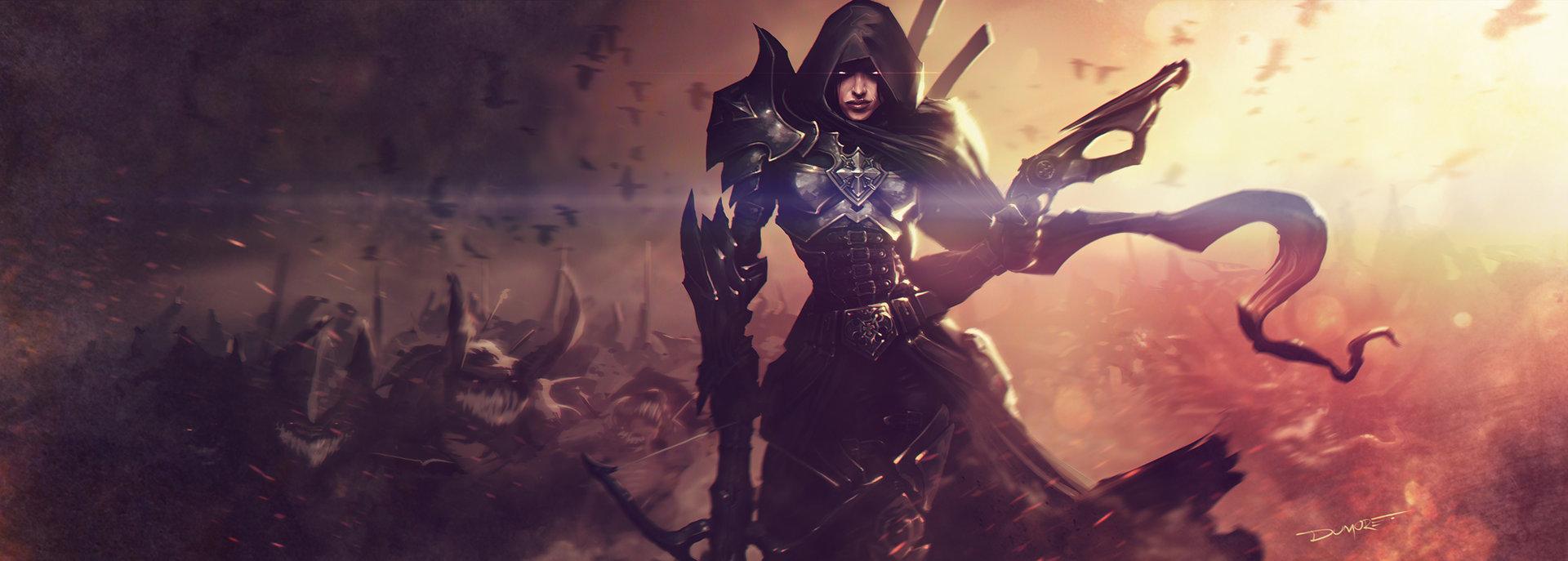 Demon Hunter Diablo 3  № 1892521 бесплатно