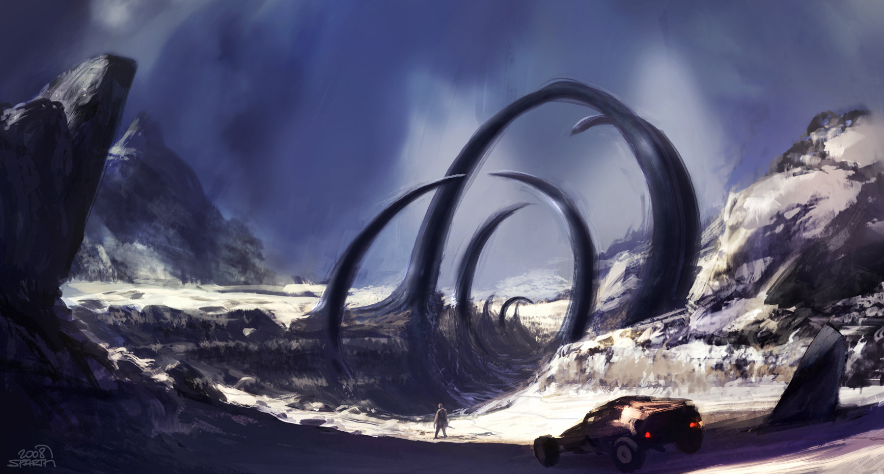 Rage   sparth   meteor impact crater   concept 2   2008