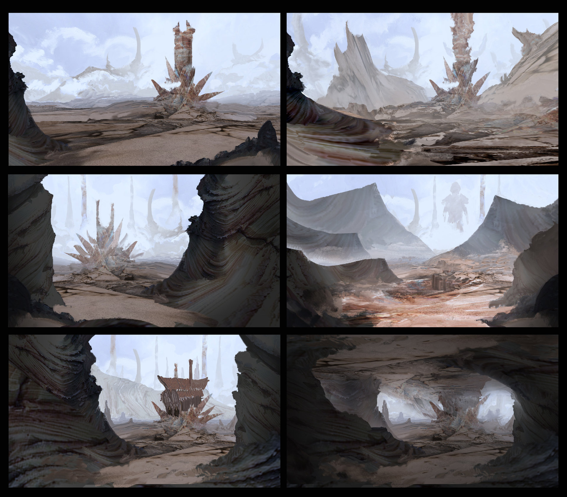 Kobo rock environment exploration 02