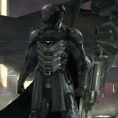Batman scifi