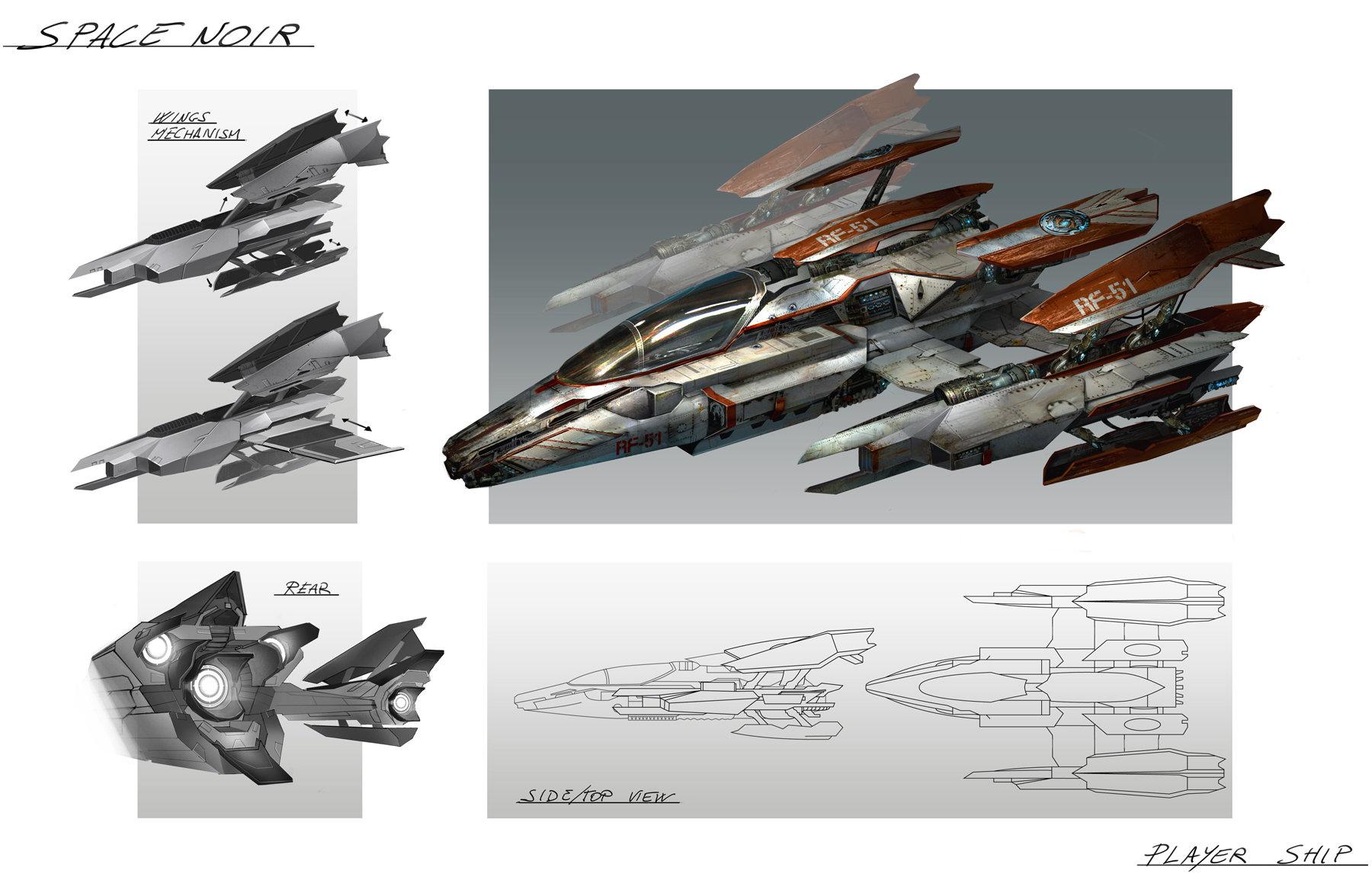 Spacenoir main ship final