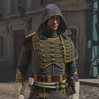 Assassin's Creed Unity, Avatar Napoleonic outfit Three.