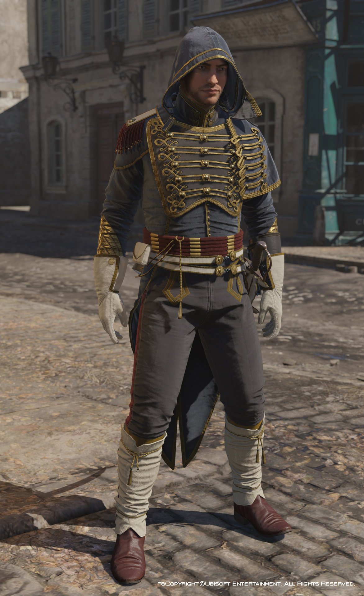 Artstation Assassin S Creed Unity Avatar Napoleonic Outfit