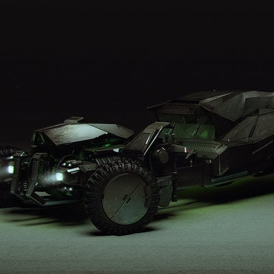 Brad wright batmobile ortho