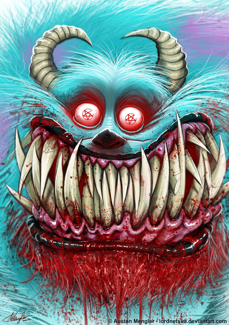 scary monsters pictures