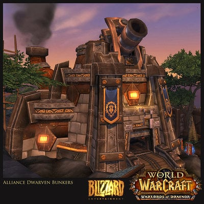Warlords of Draenor - Structures