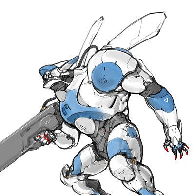 Shinku kim bug mech