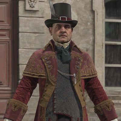 Assassin's Creed Unity, Francois De La Serre outfits