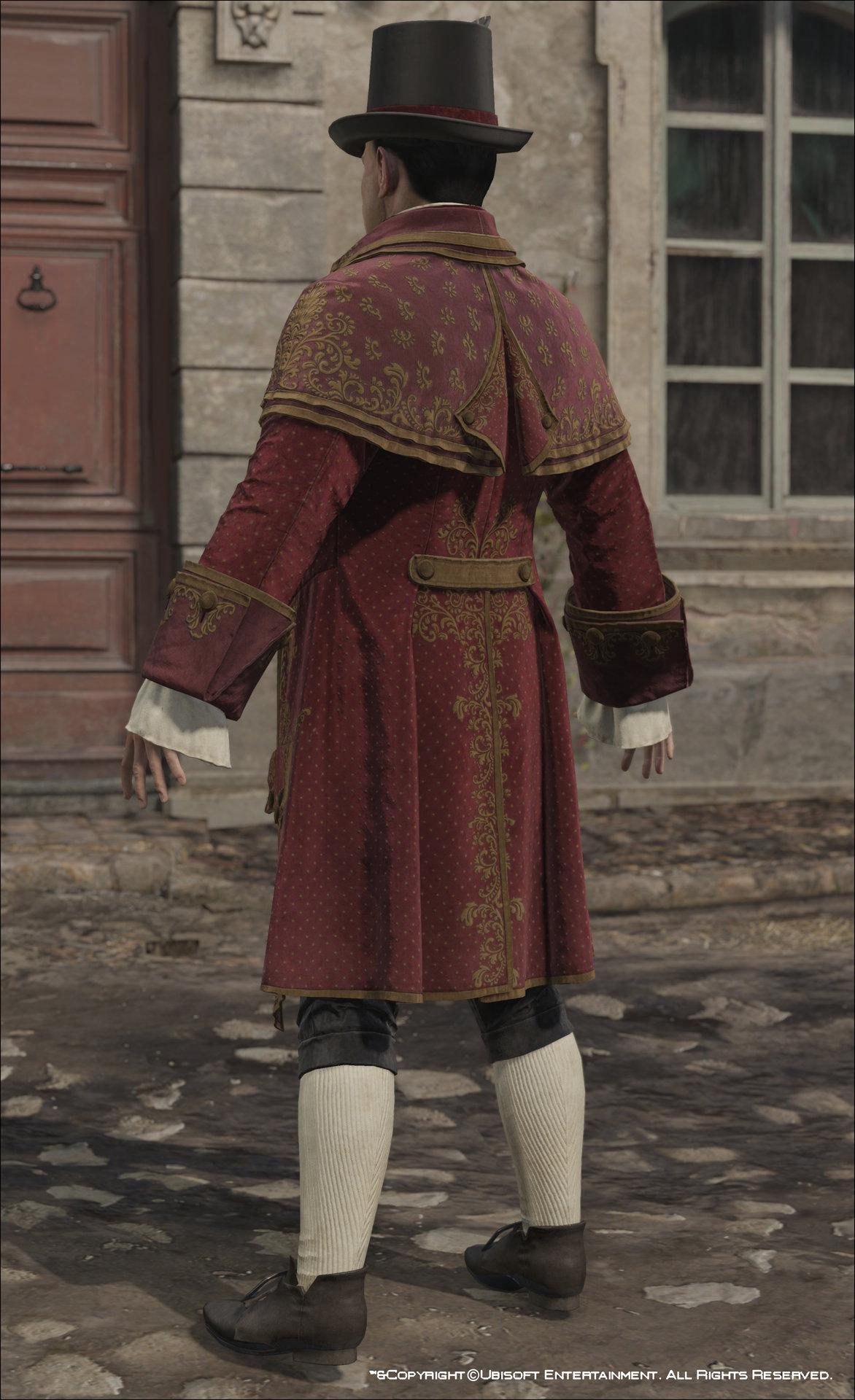 Artstation Assassin S Creed Unity Francois De La Serre Outfits