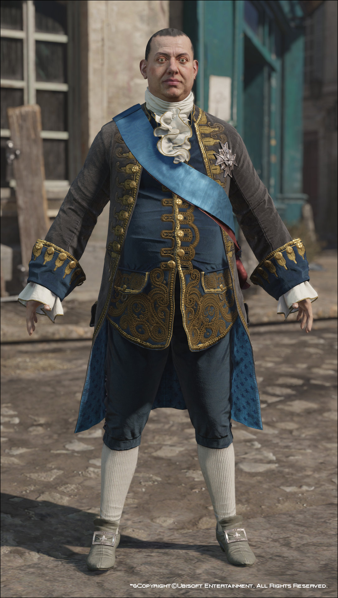 ArtStation - Assassin's Creed Unity, Louis XVI Costumes