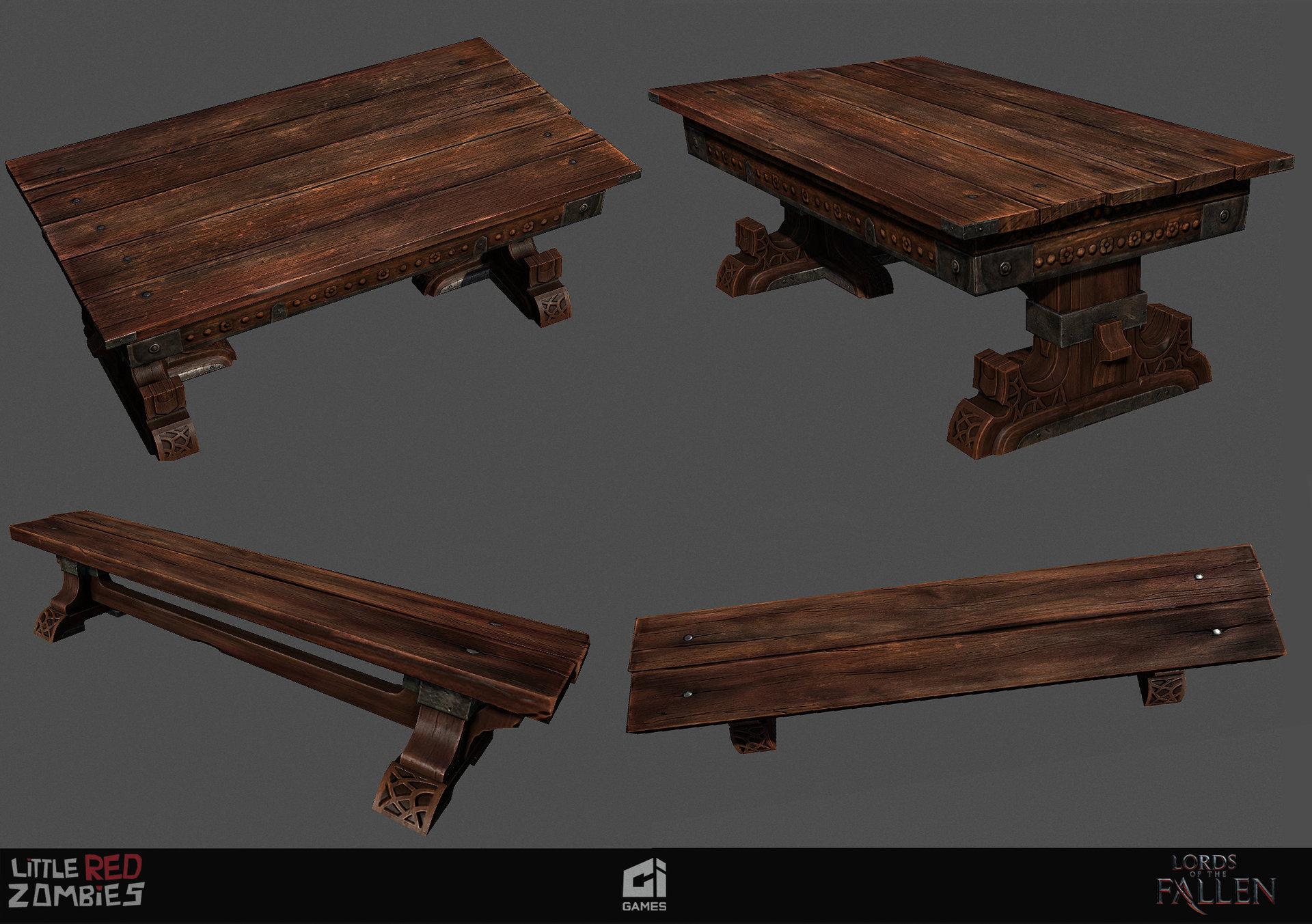 Vimal kerketta wood asset lotf highpoly