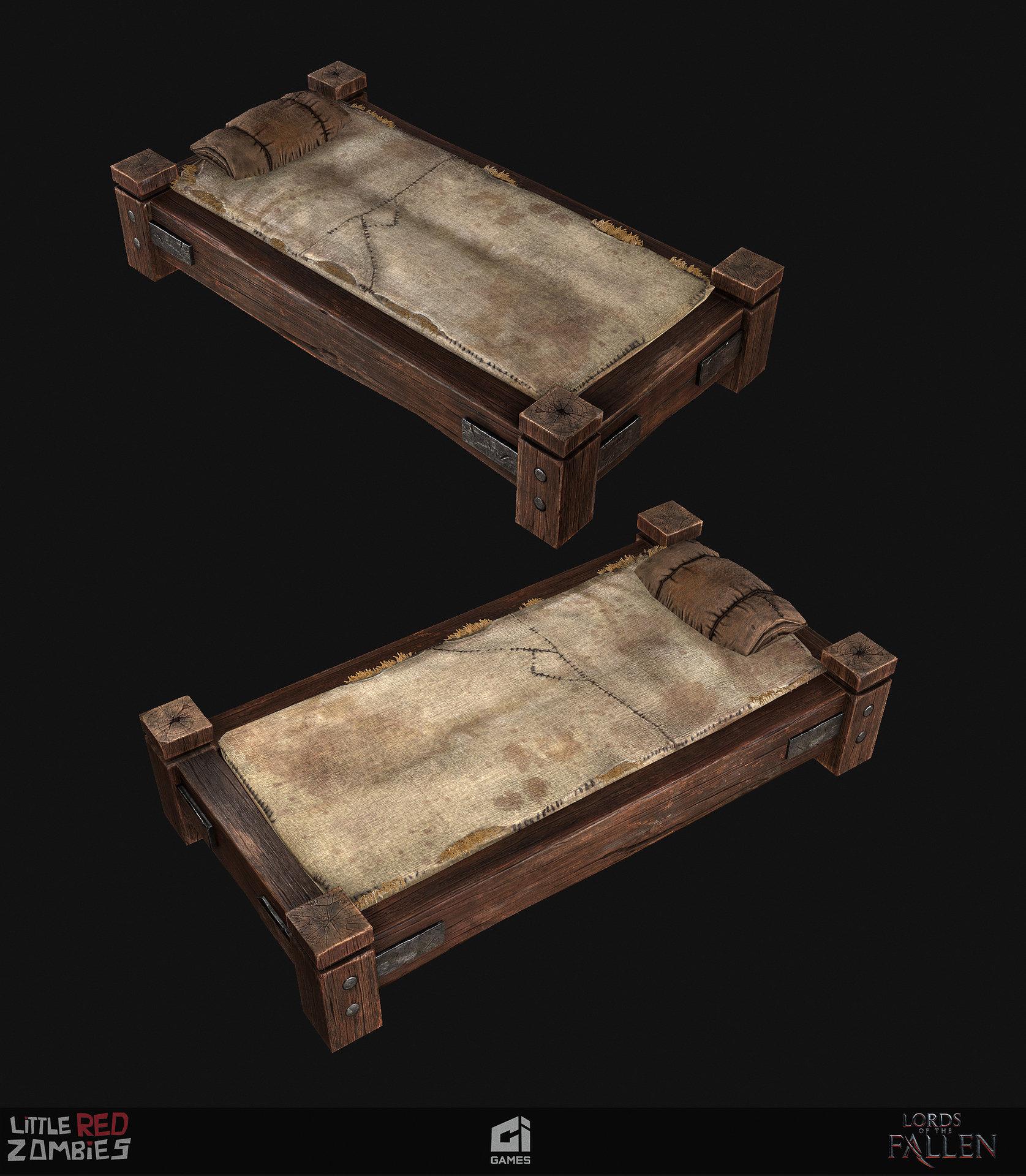 Vimal kerketta bed renders