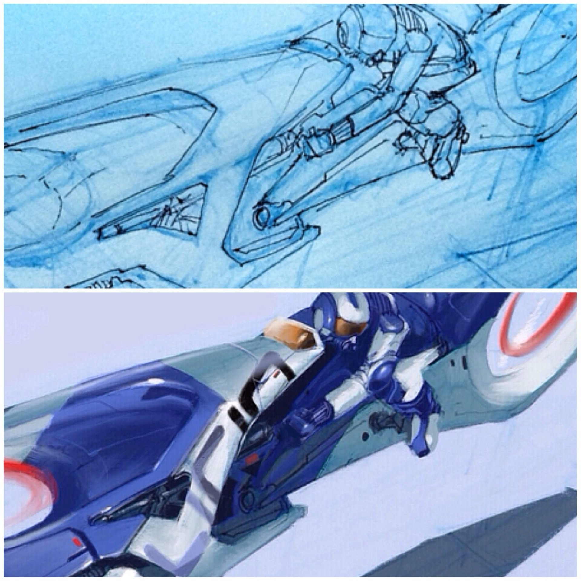 crop-in on paintover and sketch