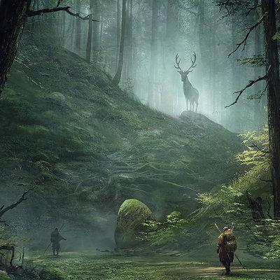 Sergey averkin meeting in wood journey series
