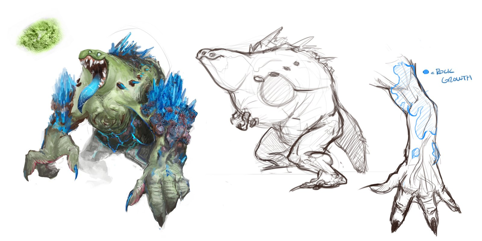 Crystal Monster Concept