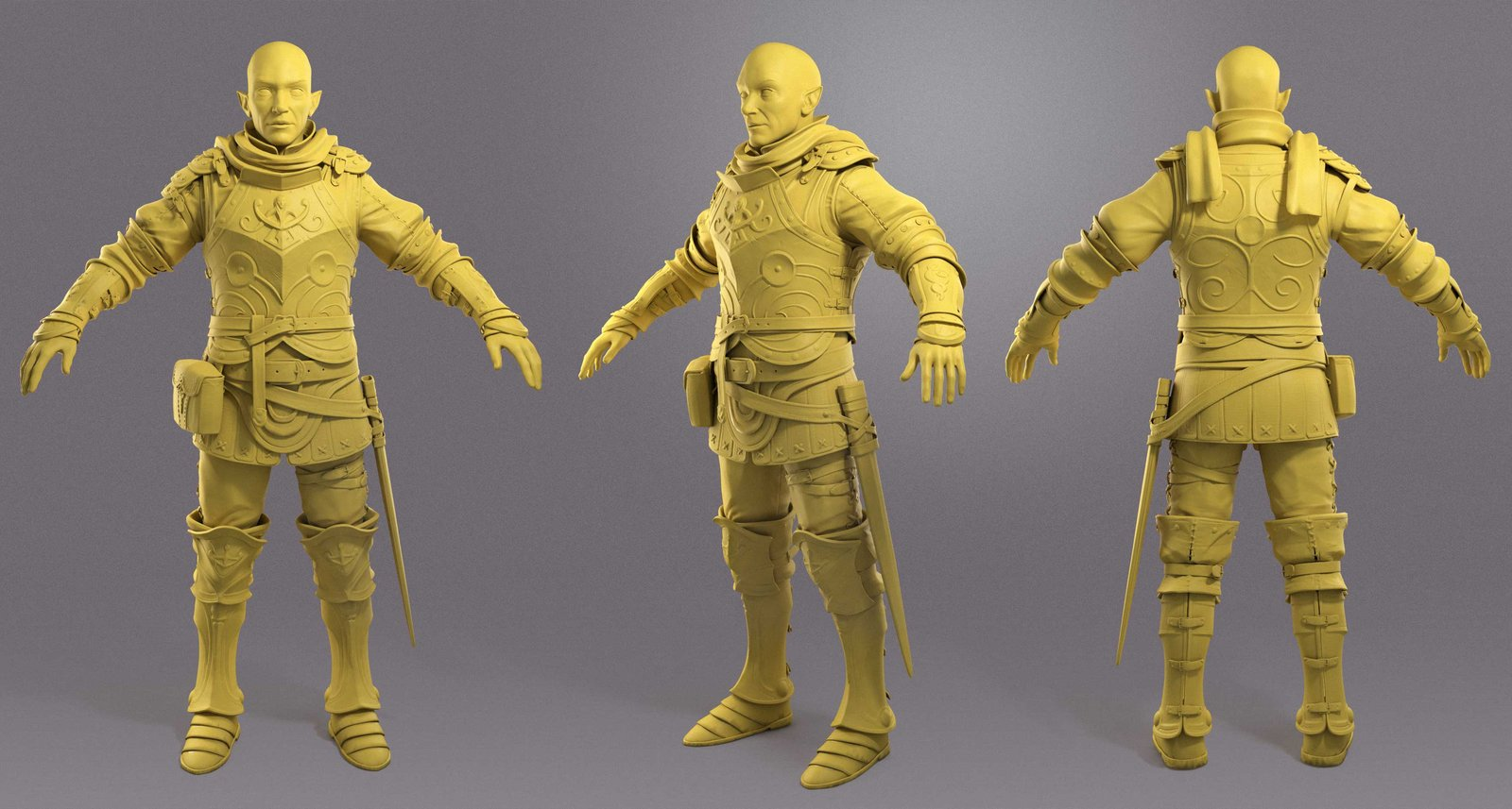 Efle Warrior ( For Game Engine ) WIP