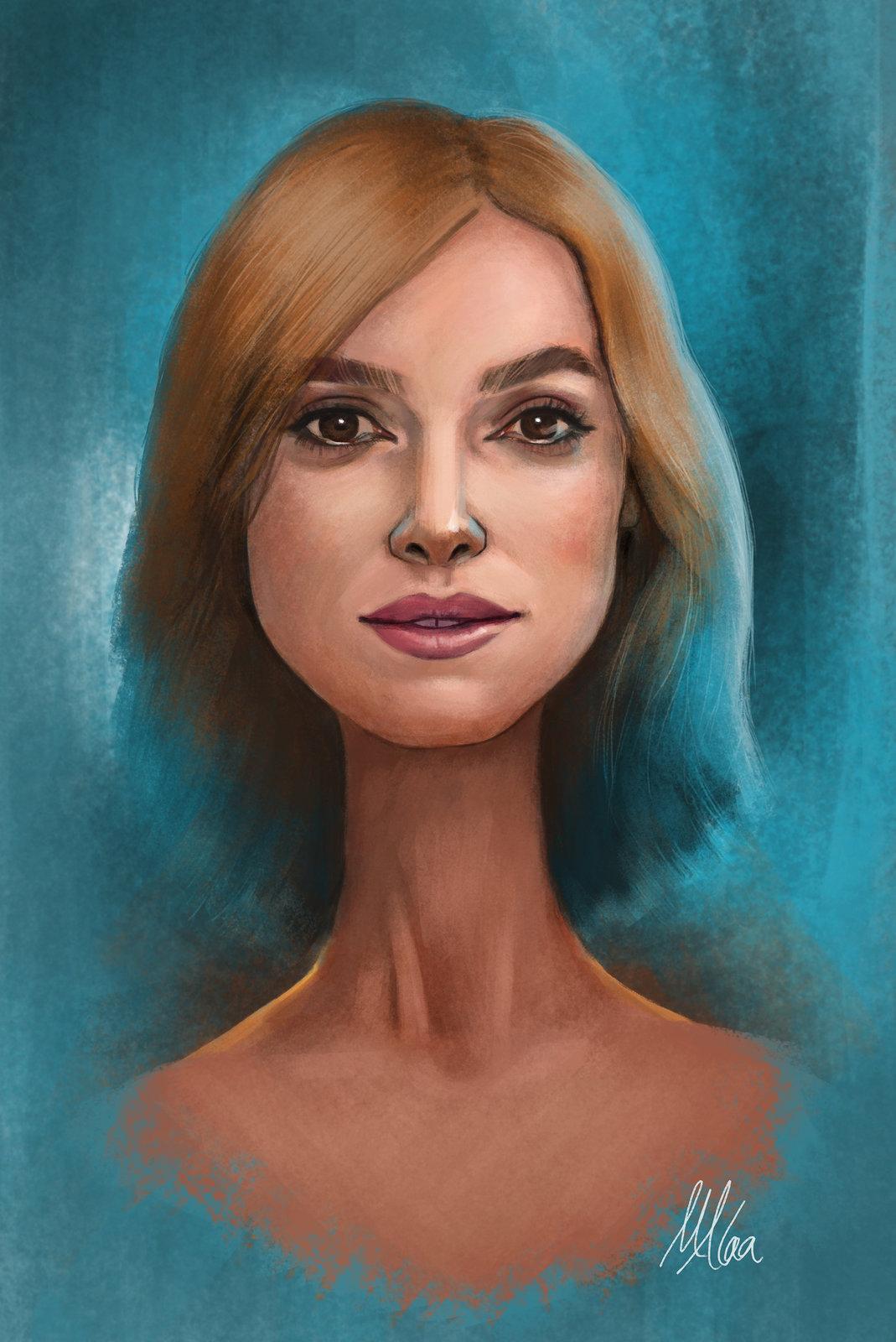 Keira Knightley's Portrait