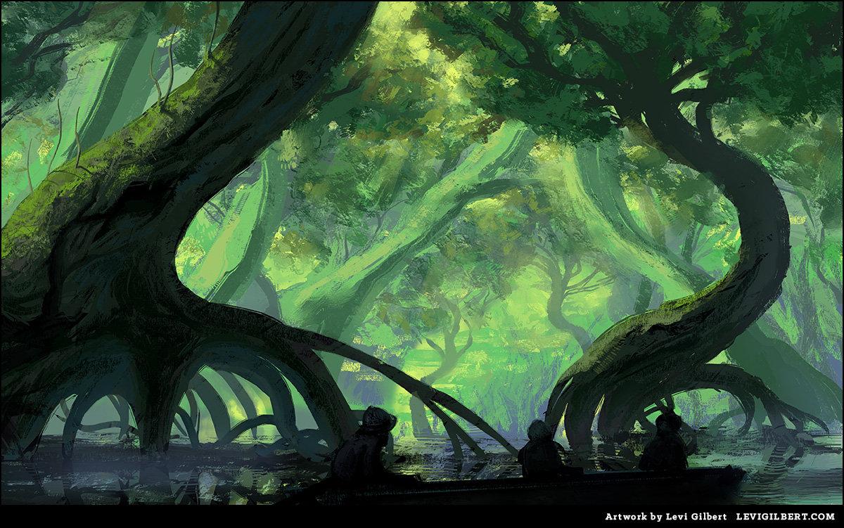 Levi gilbert swampy