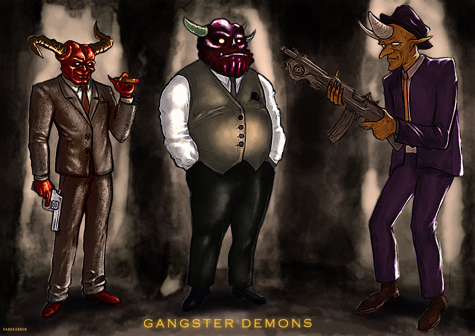 Keith wilson gangster demons