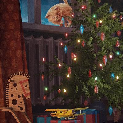 Toms seglins cgtalk wintercards 3