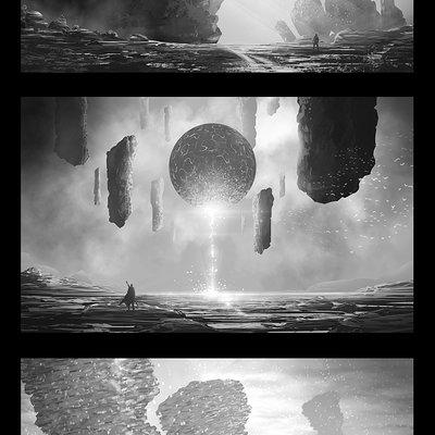 Kareem ahmed fantazy landscapes 1