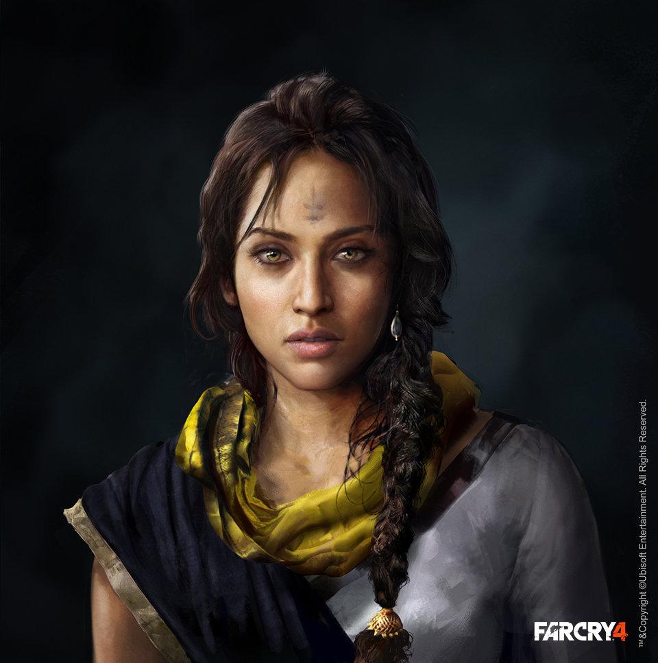 Artstation Far Cry 4 Amita Aadi Salman