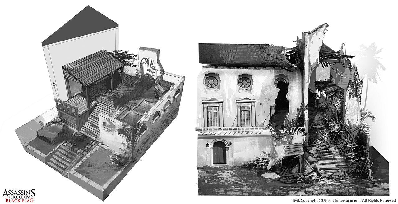 Assassin's Creed IV Black Flag /// Portobelo Façade