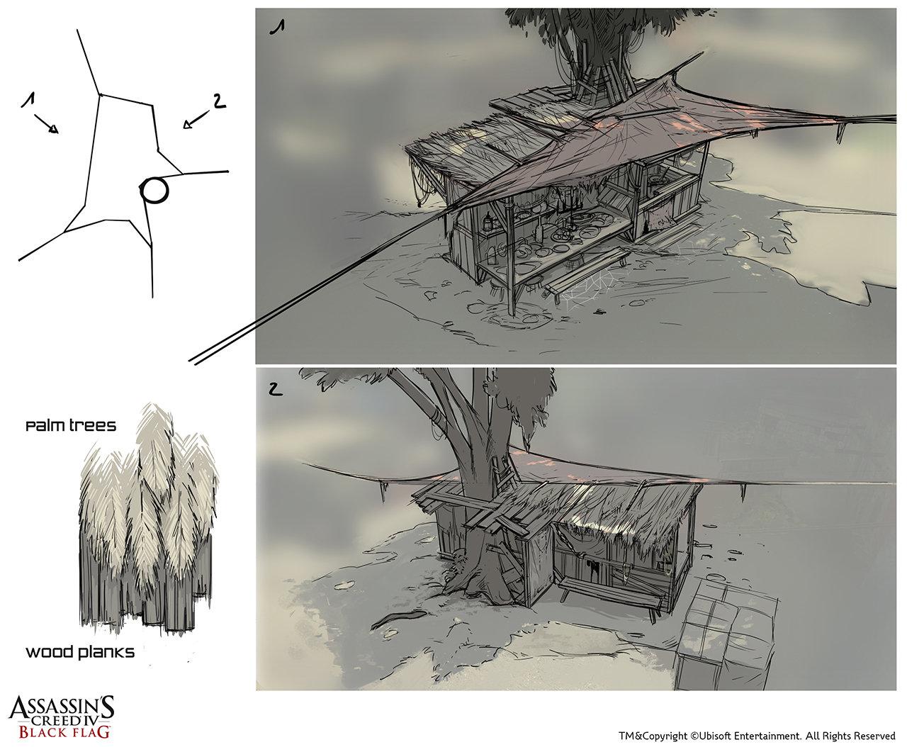 Assassin's Creed IV Black Flag /// Saba Island Cantina