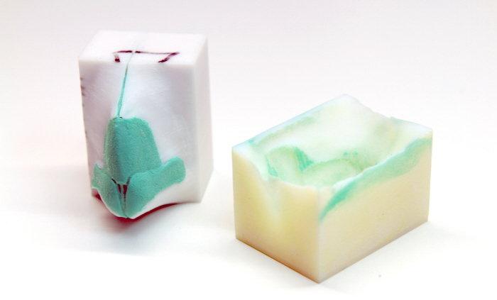 3D printed Silicone Nasal Cartilage Mold