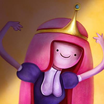 Anna maria minerva princess bubblegum by niniel illustrator low