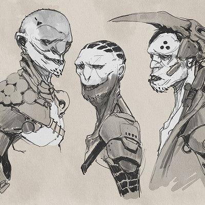 Darren bartley sketches 2