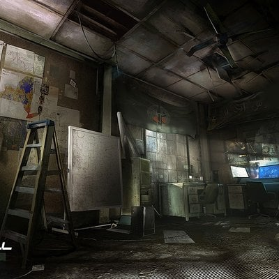 Nacho yague nachoyague splinter cell blacklist evidence room