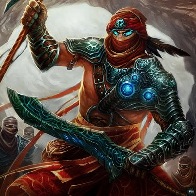 Kory hubbell desert warrior basic by koryface d65dmtg