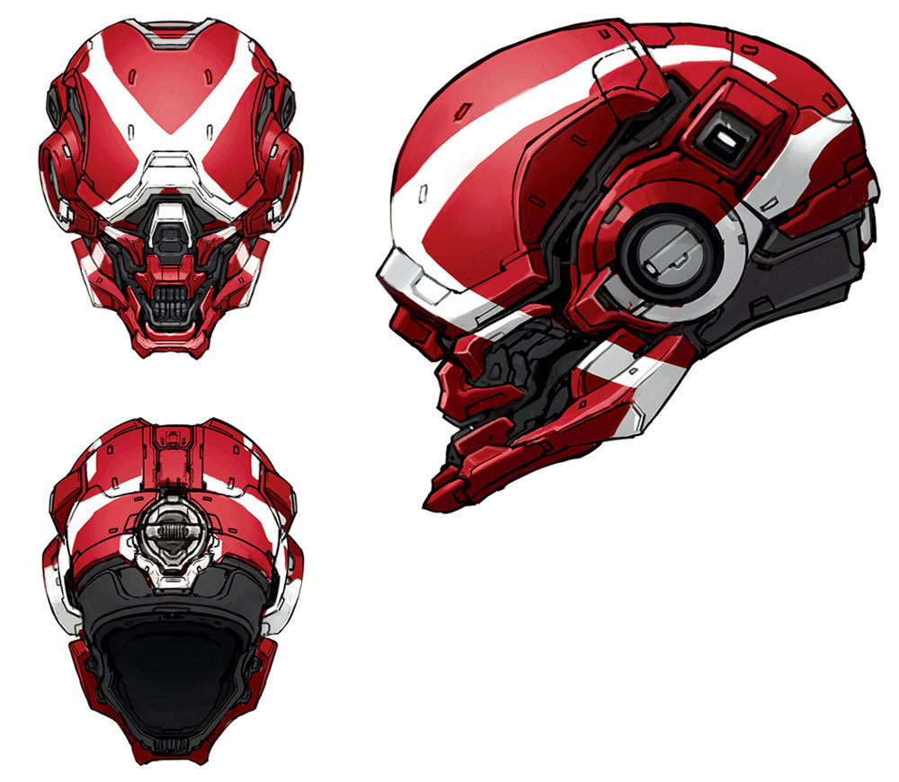 Locus Helmet for Halo 4