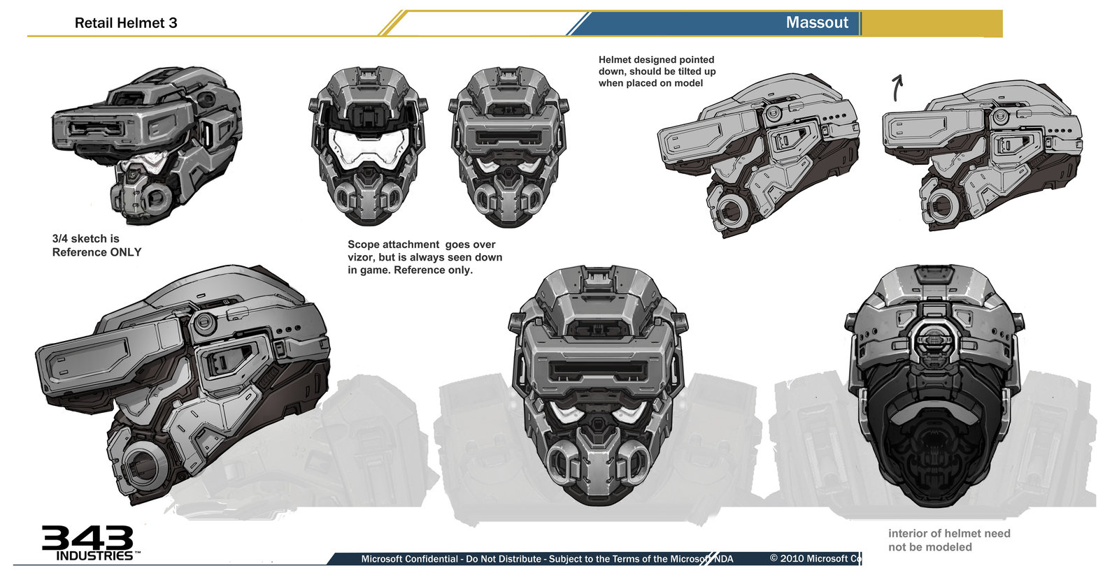 Scanner Helmet for Halo 4