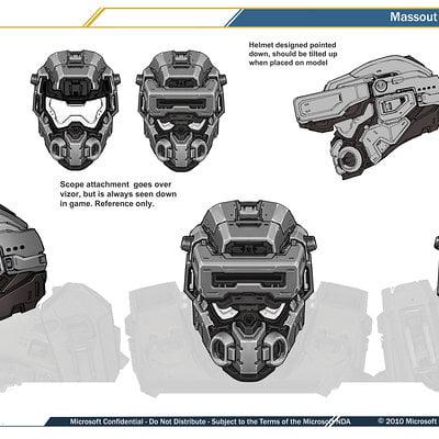 Kory hubbell mp spartan scanner helmet
