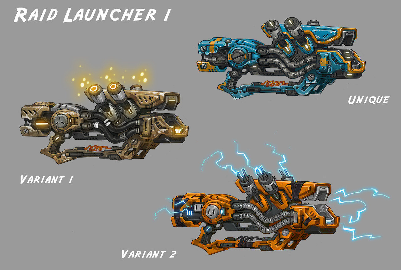 Engineer Guns- Wildstar