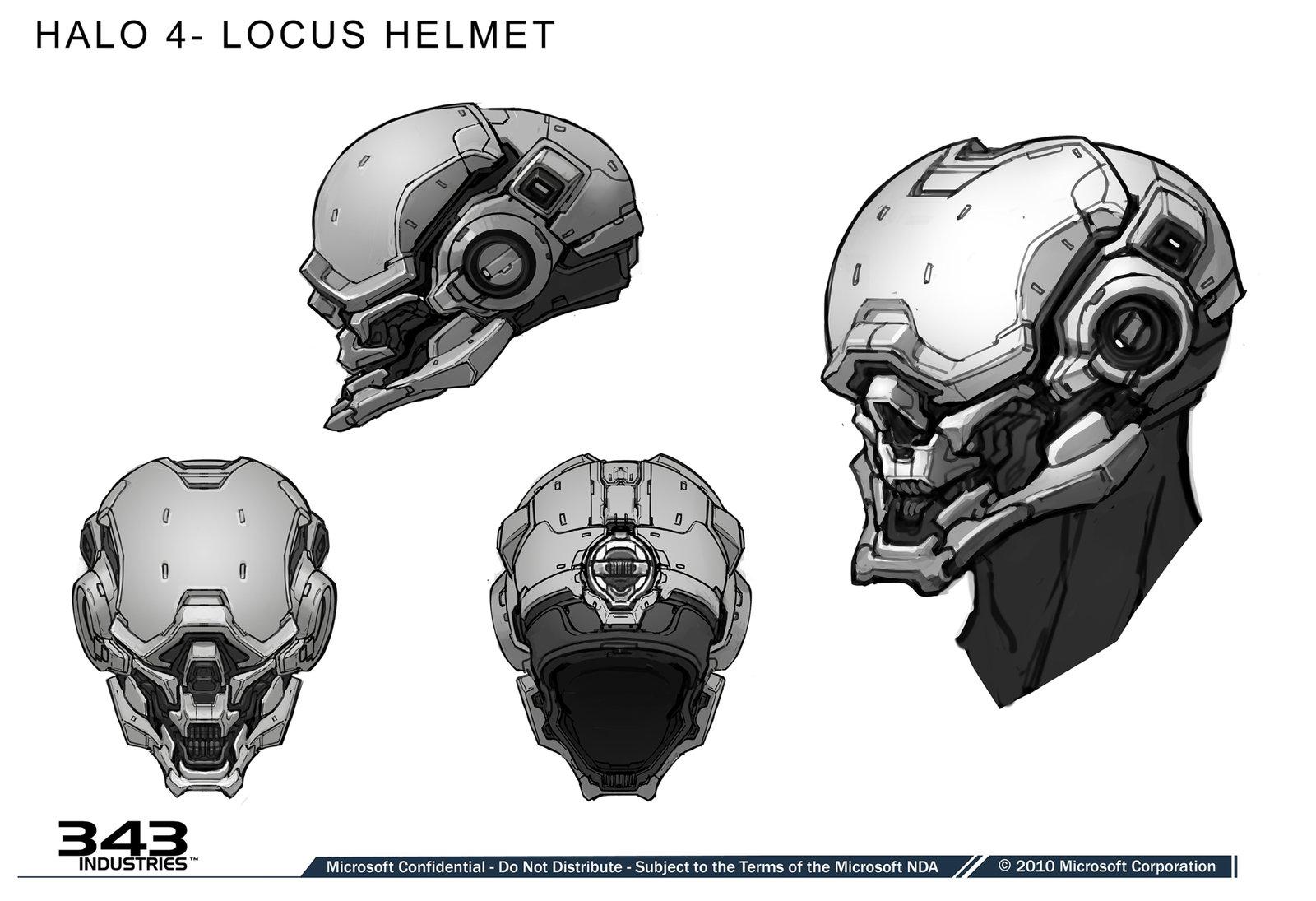 Locus Helmet- Halo 4