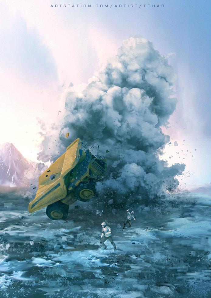 Terraforming accident