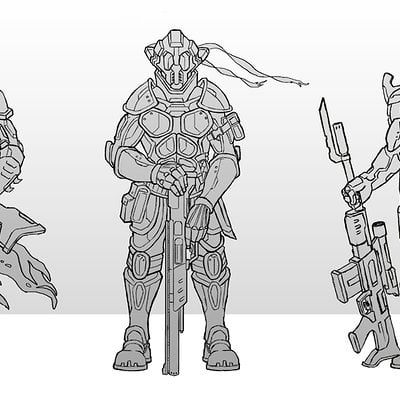Travis lacey sci fi assult soldiers travis lacey sketches