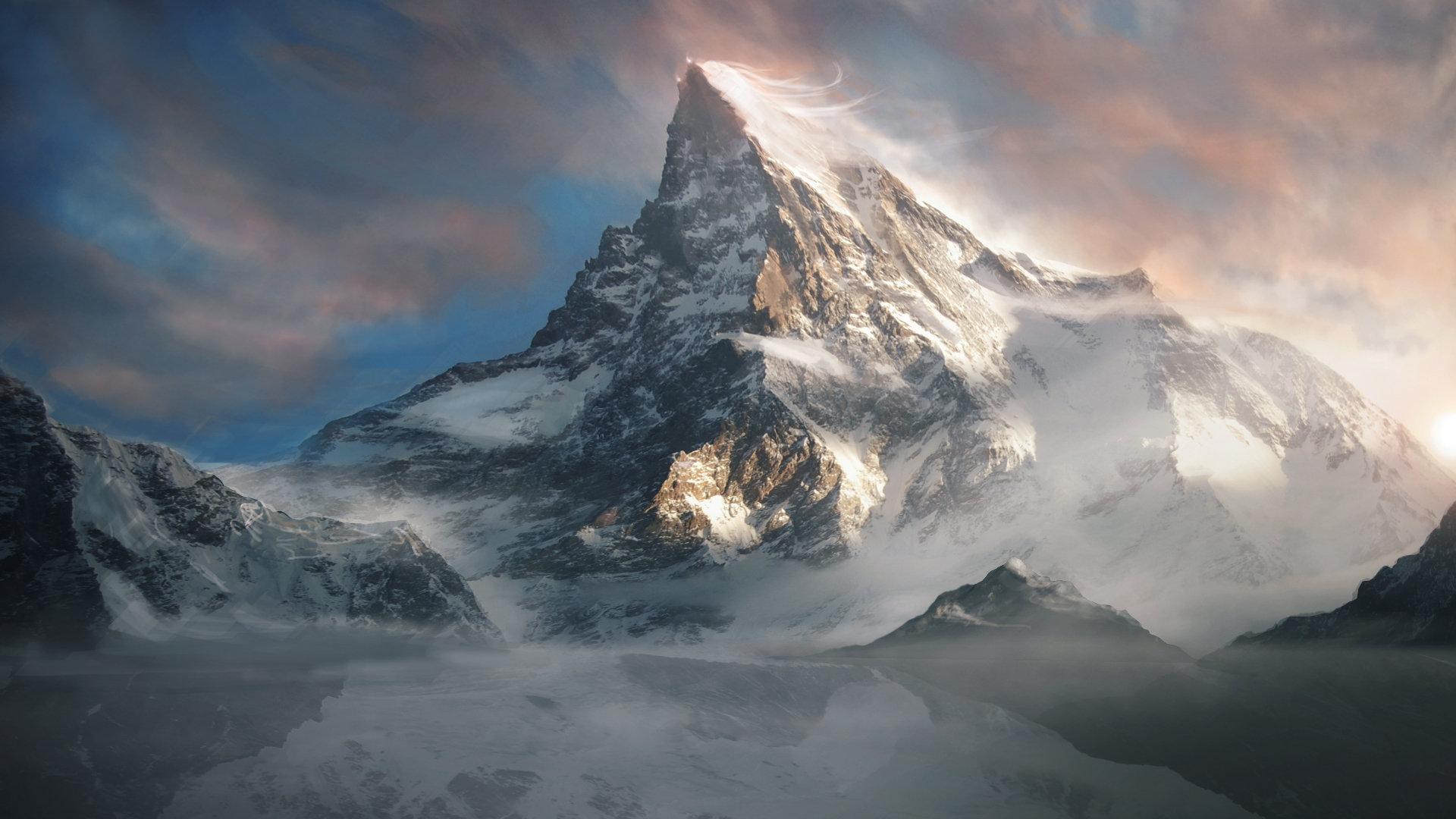 Thibault Houdon Lonely Mountain