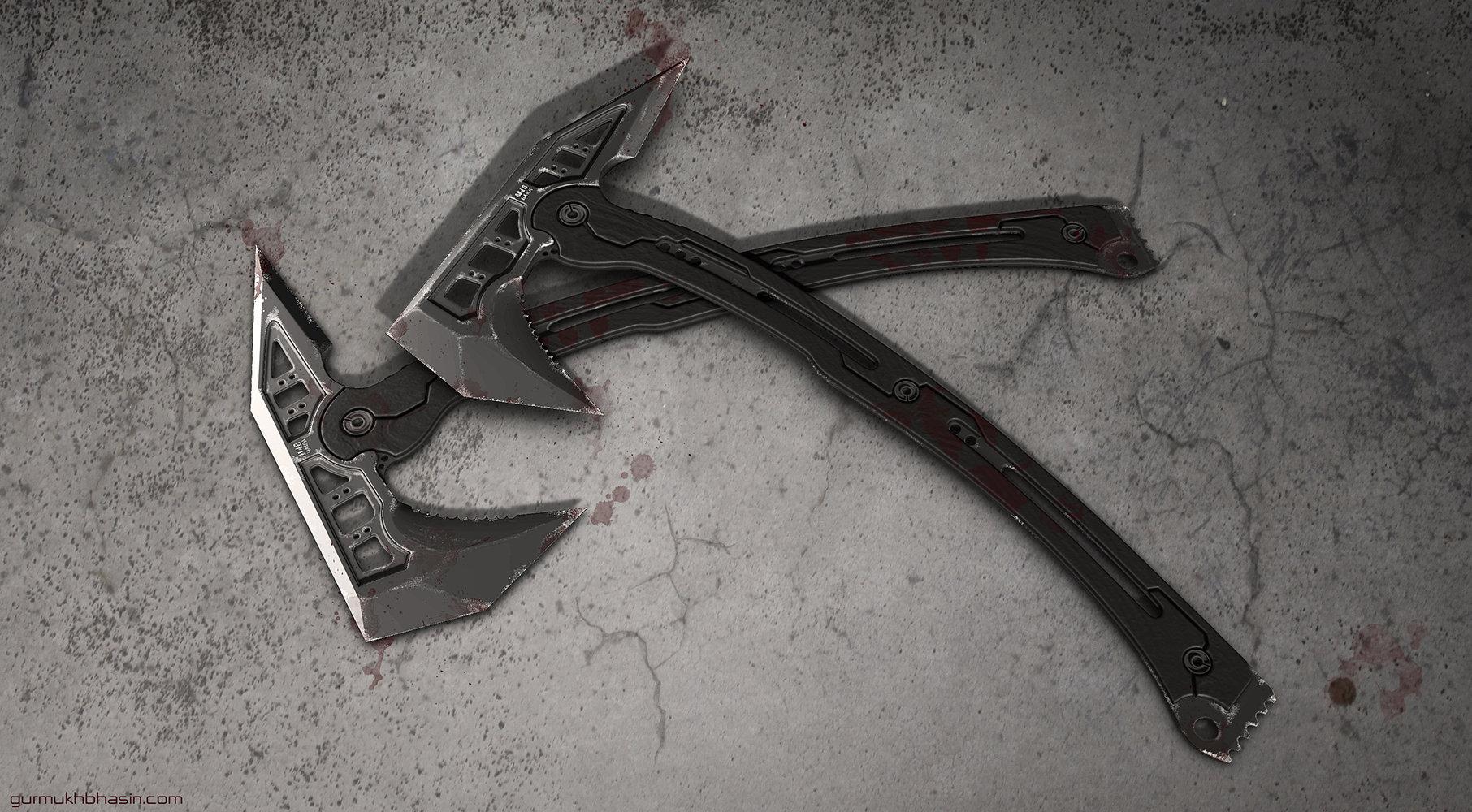 Gurmukh bhasin scifi tomahawk render half