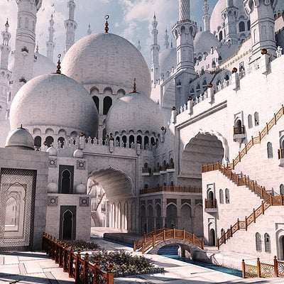 Gurmukh bhasin mosque half