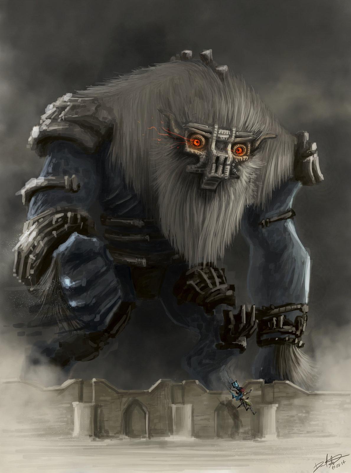 Colossus 6 - Barba