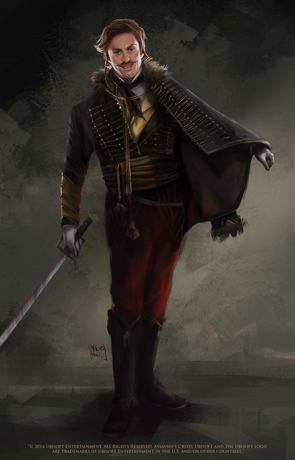 Artstation Assassins Creed Unity Characters Nacho Yague